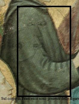 Fig.1 figure sul corpo di Francesco