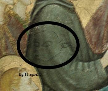 fig. 2 secondo agnello piu grande sul braccio del Santo