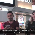 VIDEO Dante e la Divina Commedia a Hong Kong