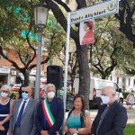 FOTO Anche Salerno ha la sua piazza Dante Alighieri
